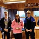 Niklas vinner AN Juniorklassen